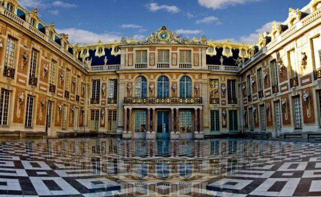 Фото-большой-королевский-дворец-Версаль-Франция